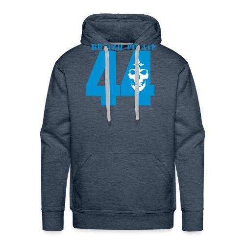 dep 44 breizhpirate - Sweat-shirt à capuche Premium pour hommes