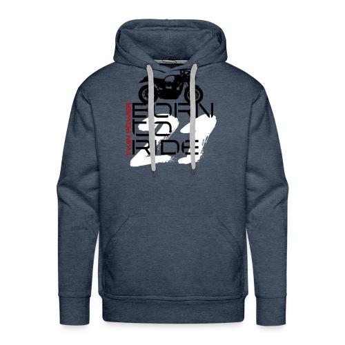M134 - Sweat-shirt à capuche Premium pour hommes