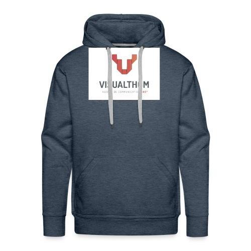 logo-visualthom - Sweat-shirt à capuche Premium pour hommes