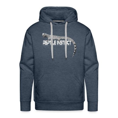 Reptile Instinct big - Men's Premium Hoodie