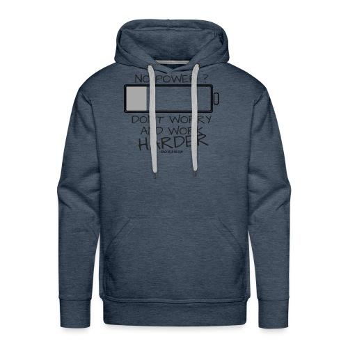 A bout de force ? - Sweat-shirt à capuche Premium pour hommes