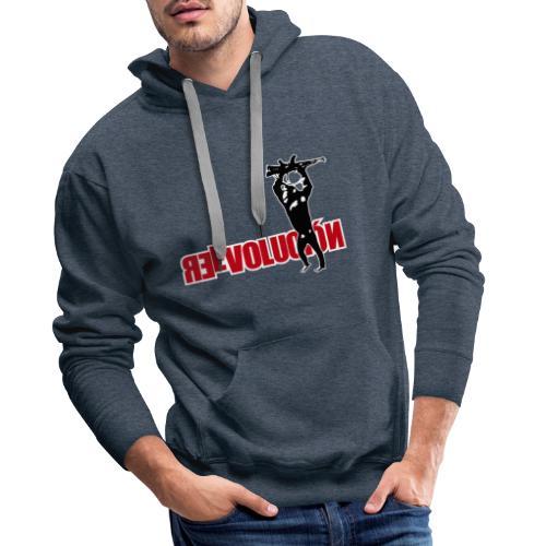 Re Evolución - Sudadera con capucha premium para hombre