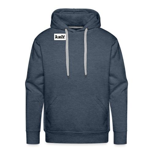 kult1 - Sweat-shirt à capuche Premium pour hommes