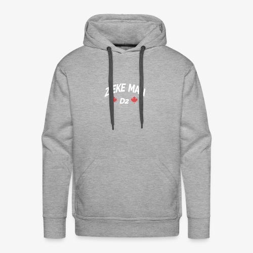 Zieke Man 'Quote By 3robi' - Mannen Premium hoodie