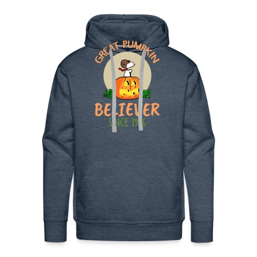 Great pumpkin believer since 1966 - Men's Premium Hoodie