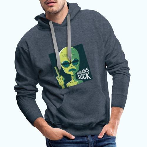 Humans Suck Limited Edition - Men's Premium Hoodie
