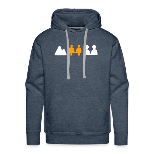 Retro camera zone focus - Men's Premium Hoodie