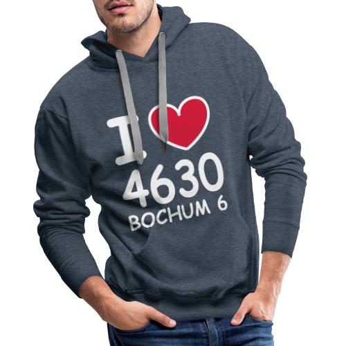 I ♥ 4630 BOCHUM 6 - Männer Premium Hoodie