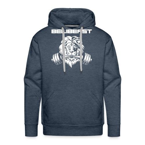 BELIB PNG WHITE - Sweat-shirt à capuche Premium pour hommes