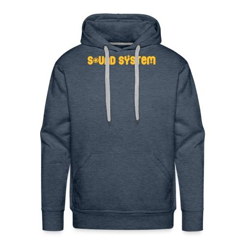 Sound System - Sweat-shirt à capuche Premium pour hommes