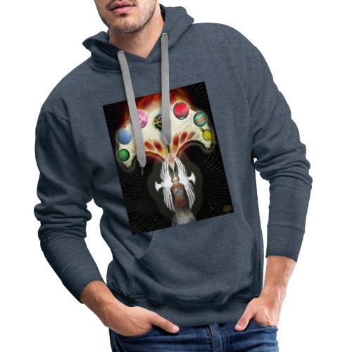Transe 4 - Sweat-shirt à capuche Premium pour hommes