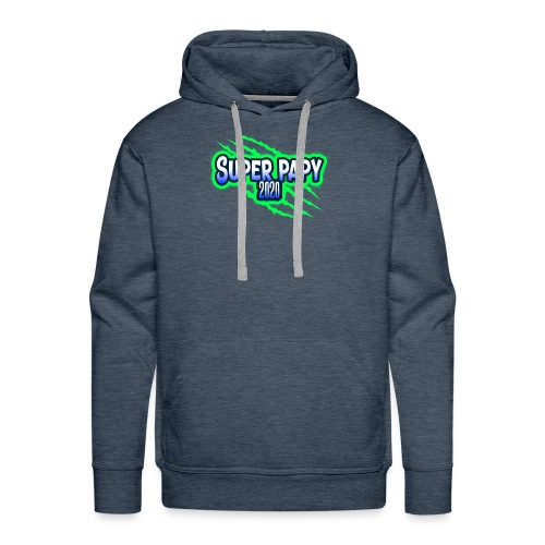 super papy 2020 - Sweat-shirt à capuche Premium pour hommes
