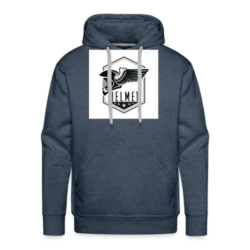 Helmet logo - Men's Premium Hoodie
