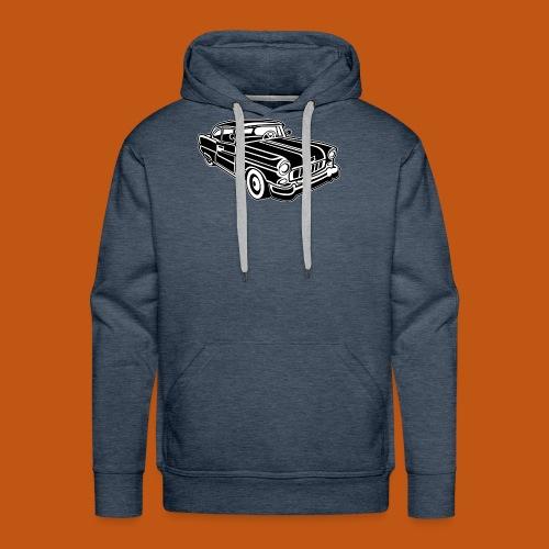 Chevy Cadilac / Muscle Car 02_schwarz weiß - Männer Premium Hoodie