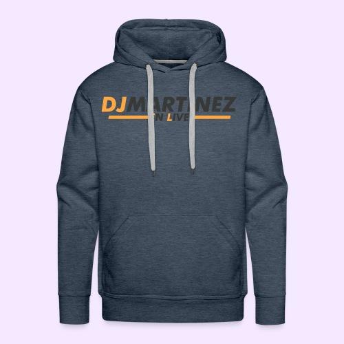 DJMARTINEZ - Sweat-shirt à capuche Premium pour hommes