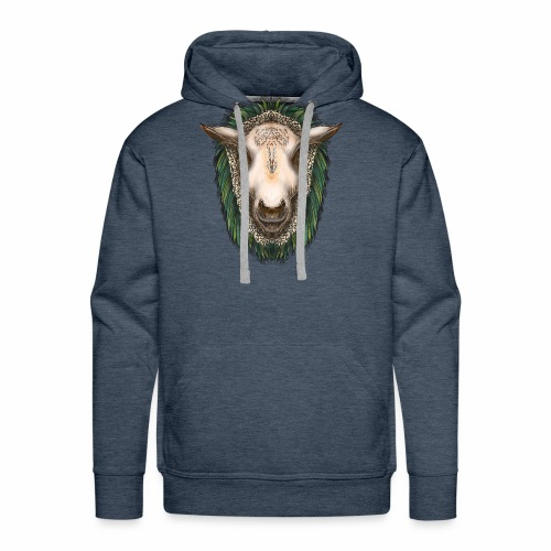 Zed The Sheep by Jon Ball - Men's Premium Hoodie