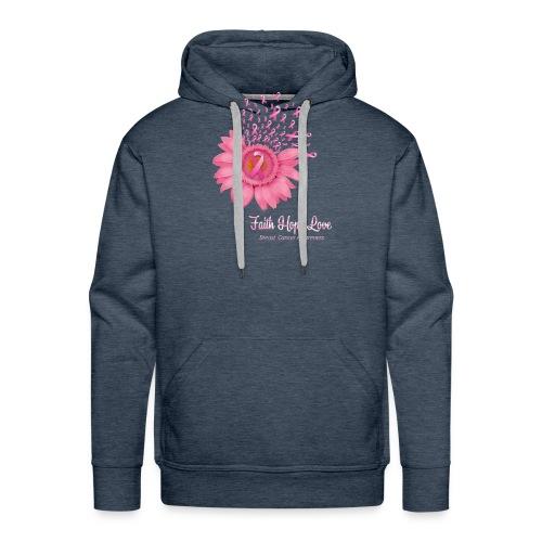 hope love - Sweat-shirt à capuche Premium pour hommes
