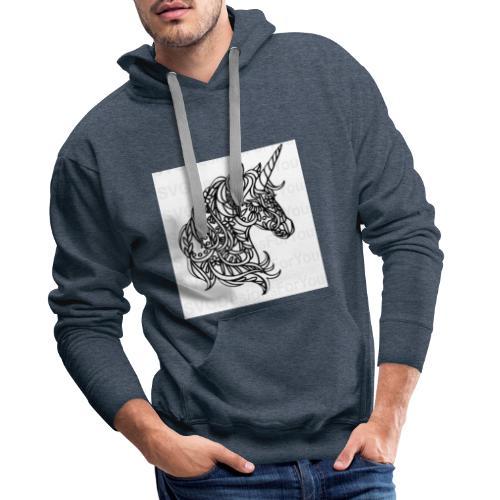 Unicorn - Männer Premium Hoodie