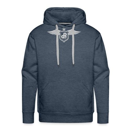 logo doeprecordz wings2 - Männer Premium Hoodie