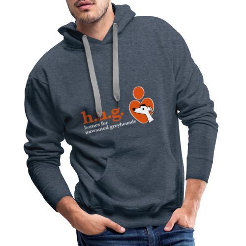 HUG logo branded gear - Men's Premium Hoodie