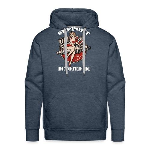T-Shirt DEVOTEDMC SUPPORTSHOP10004 - Premium hettegenser for menn
