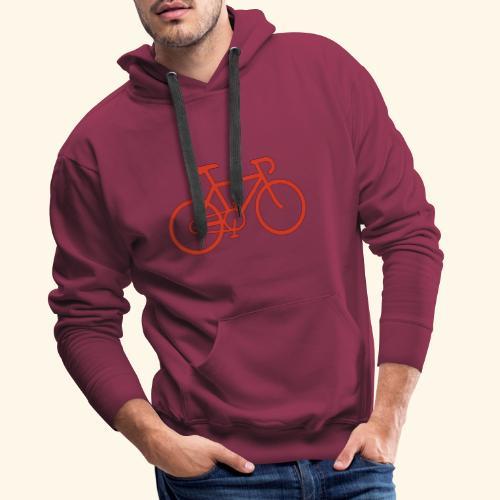 Rennrad, Race-Bike, Fahrrad - Männer Premium Hoodie