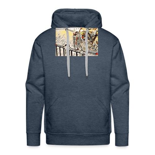 perroquet cacatoes - Sweat-shirt à capuche Premium pour hommes