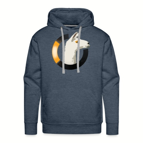 LamaWatch Style - Sweat-shirt à capuche Premium pour hommes