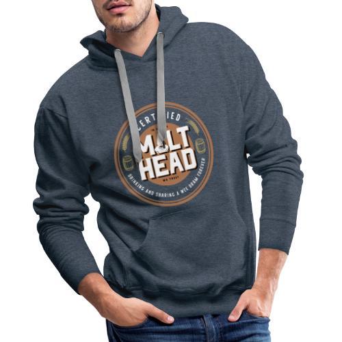 Certified MaltHead - Männer Premium Hoodie