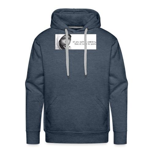 quiet - Mannen Premium hoodie