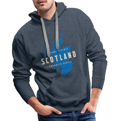 Scotland: Favorite Place, Favorite People - Männer Premium Hoodie