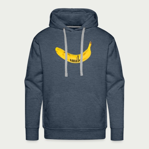 Bananen Smile - Männer Premium Hoodie