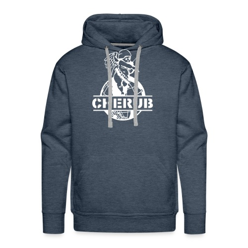 CHERUB LOGO BIG CLEAR - Sweat-shirt à capuche Premium pour hommes