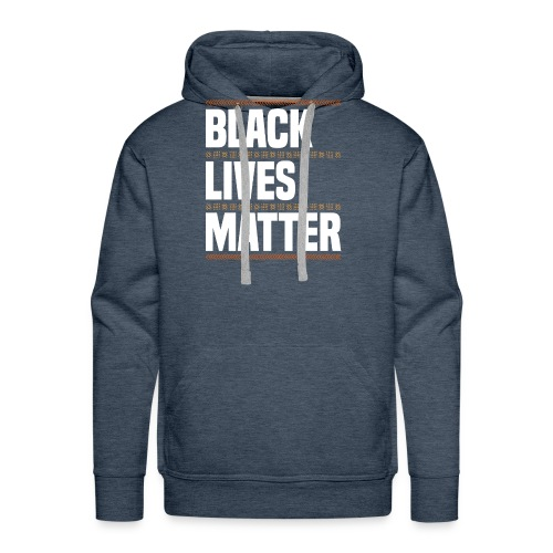Black Lives Matter Black Pride African American - Männer Premium Hoodie