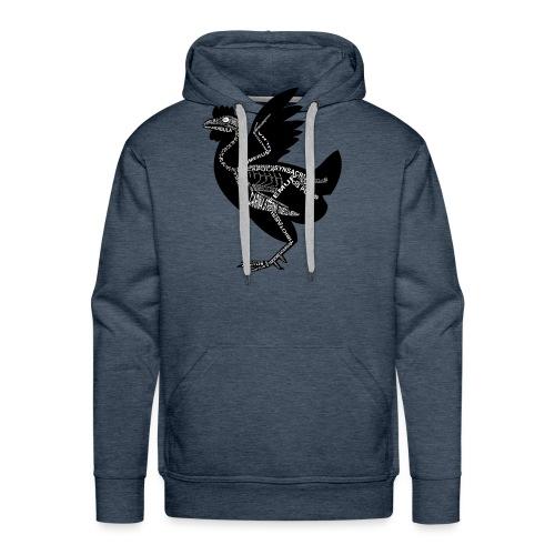 Huhn-Skelett - Sweat-shirt à capuche Premium pour hommes