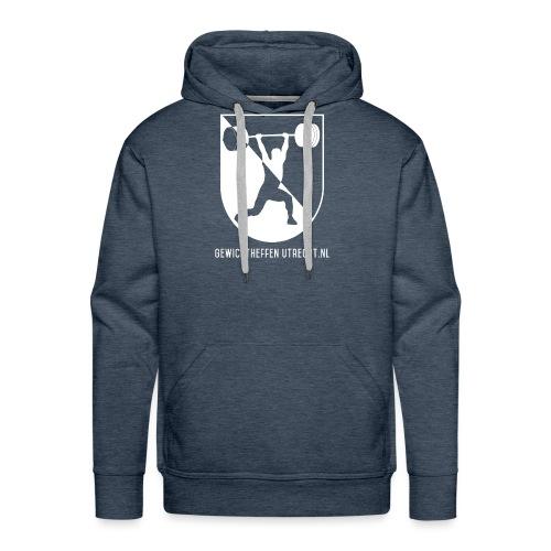 Modern Logo - Mannen Premium hoodie