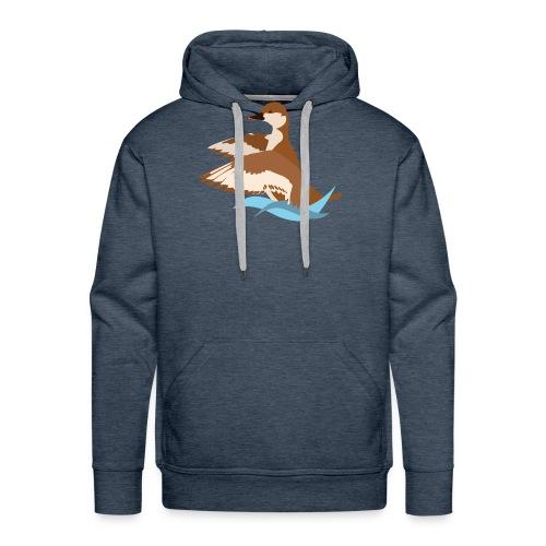 nette rousse logo - Sweat-shirt à capuche Premium pour hommes