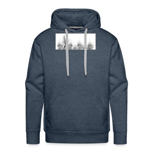 Grass jpg - Sweat-shirt à capuche Premium pour hommes
