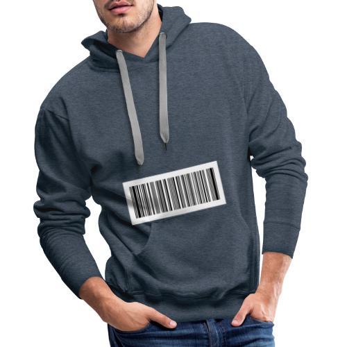 QR-Code - Männer Premium Hoodie