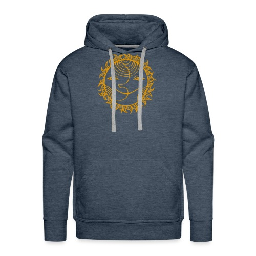 Golden Sunmoon Rising - Men's Premium Hoodie