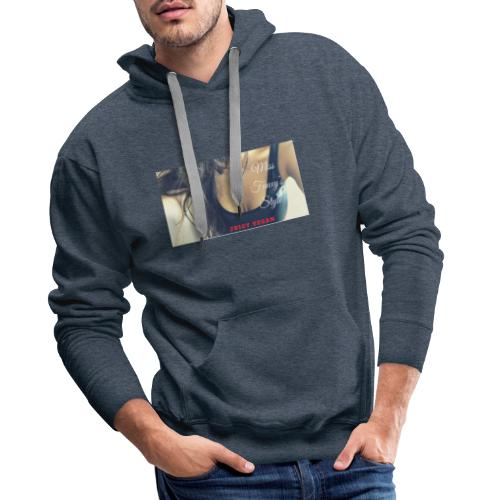 Juicy Vegan - Mannen Premium hoodie