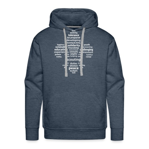 scouting is - Men's Premium Hoodie