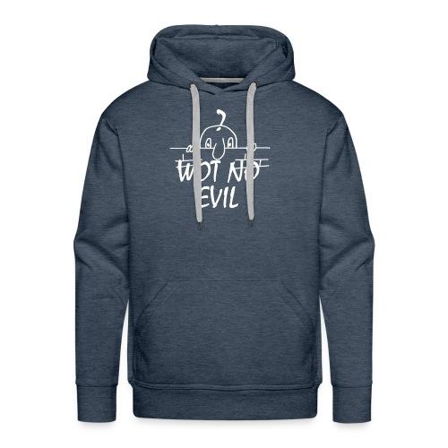 WOT NO EVIL - Men's Premium Hoodie