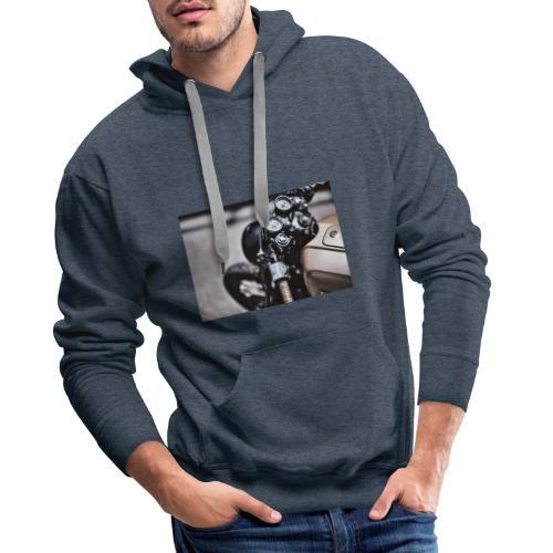 Moto - Sweat-shirt à capuche Premium pour hommes