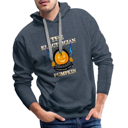 The Electrican lightning the Pumpkin - Männer Premium Hoodie