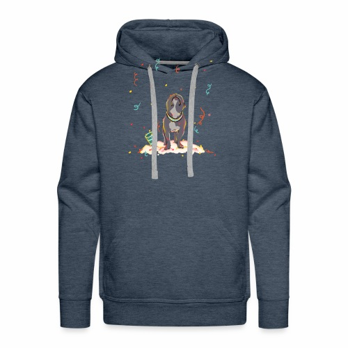 it's a frenchie party - Männer Premium Hoodie