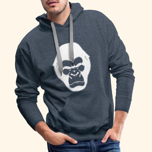 Gorille - Sweat-shirt à capuche Premium pour hommes