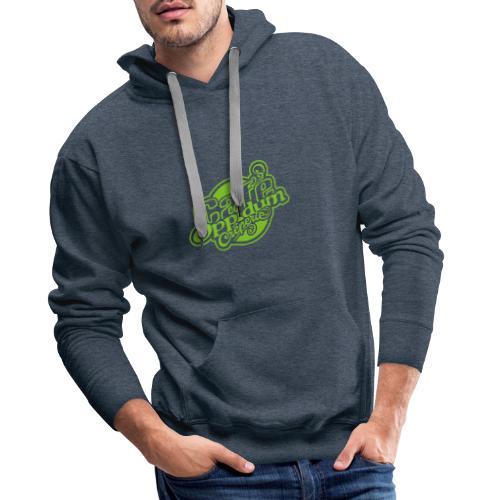 CAFE OPPIDUM VERT - Sweat-shirt à capuche Premium pour hommes