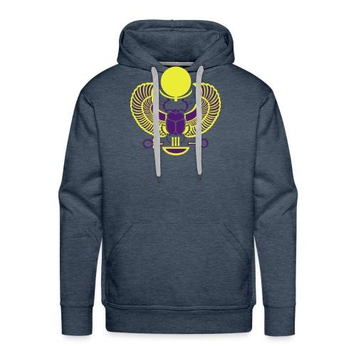 Geflügelter Skarabäus I Hieroglyphen - Männer Premium Hoodie