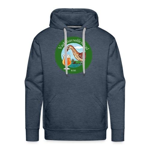 Vadehavsølfestival - Herre Premium hættetrøje